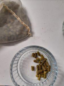 Houblon en pellets